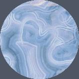 Ágata de encaje azul