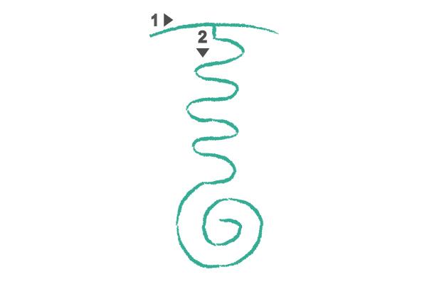 la serpiente de fuego simbolo de reiki 2