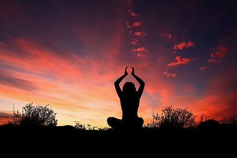 yoga con el ojo de la mente