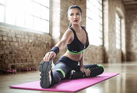 yoga con fuerza