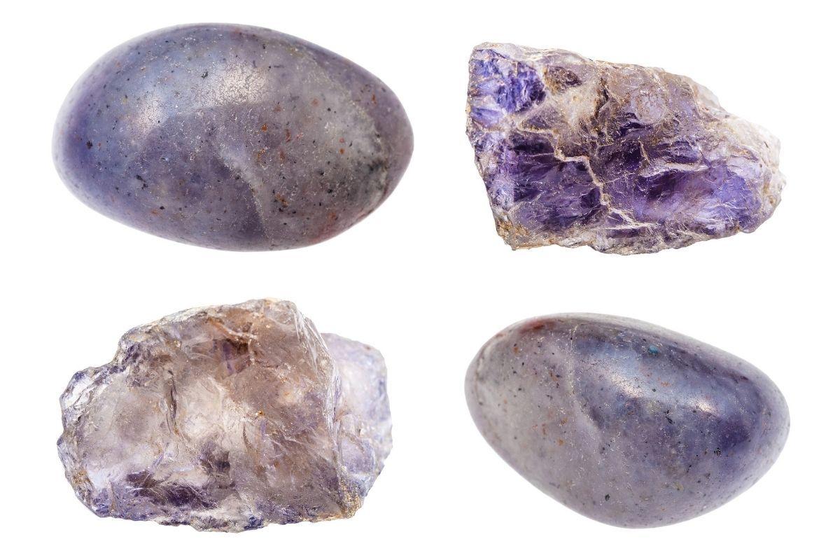 Varias piedras de Iolita