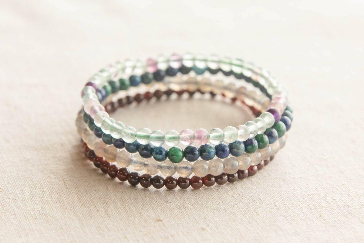 pulseras de piedras preciosas para capricornio